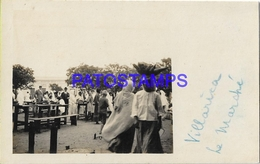 134163 PARAGUAY VILLARICA COSTUMES THE MARKET POSTAL POSTCARD - Paraguay