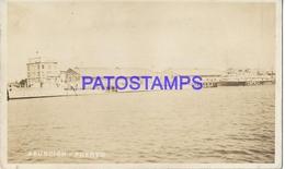 134165 PARAGUAY ASUNCION VISTA PARCIAL DEL PUERTO PORT & SHIP POSTAL POSTCARD - Paraguay