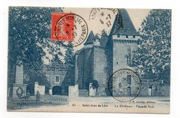 24 - SAINT JEAN De CÔLE - Le Château - Façade Sud - 1937 (F161) - Francia