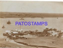 134173 PARAGUAY HELP VISTA PARCIAL & SHIP 12 X 9 CM PHOTO NO POSTAL POSTCARD - Paraguay