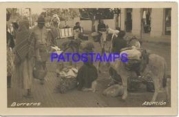 134177 PARAGUAY ASUNCION COSTUMES BURRERAS PHOTO NO POSTAL POSTCARD - Paraguay