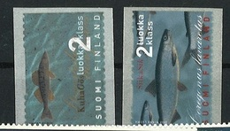 Finland Self-adhesive Fish Stamps From Animal Sets Mnh ** - Peces