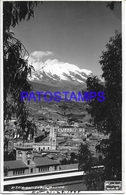 134183 BOLIVIA LA PAZ VISTA PARCIAL POSTAL POSTCARD - Bolivia