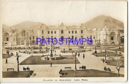 134193 PERU LIMA PALACIO DE GOBIERNO POSTAL POSTCARD - Perú