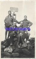 134197 CHILE COSTUMES SOLDIER MILITARY PHOTO NO POSTAL POSTCARD - Chili