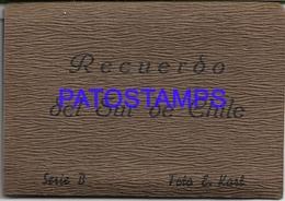 134198 CHILE MULTI VIEW FOTO E. KARL 16 MINI PHOTO NO POSTAL POSTCARD - Chili