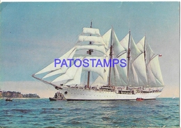 134199 CHILE SHIP BUQUE ESCUELA ESMERALDA ARMADA POSTAL POSTCARD - Chili