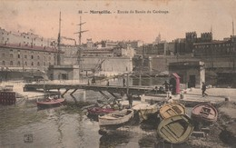 13 MARSEILLE   Entree Du  Bassin Du Carenage - Marseille