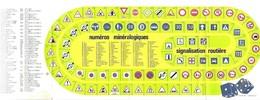 CALENDRIER 1988 BOULOGNE SUR MER - CHEVROLET CORVETTE, NUMEROS MINERALOGIQUES, SIGNALISATION ROUTIERE, DES - A VOIR - Calendars