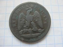 Mexico , 1 Centavo 1890 OM - Mexico