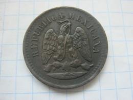 Mexico , 1 Centavo 1891 OM - Mexico