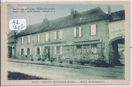 NEUVY-SAUTOUR- HOTEL DU COMMERCE - Neuvy Sautour