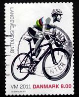 Denmark 2011  Cycle World Championship.   MiNr.1661 ( Lot   L 3068 ) - Gebraucht