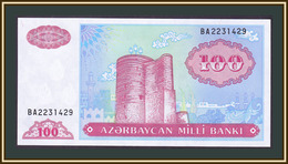 Azerbaijan 100 Manat 1993 (1999) P-18 (18b) UNC - Aserbaidschan