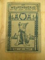 Scouts Het Welpenboekje Sir Robert Powell 1921 Sinte Kruis 21 B P E Berchem 56 Blz - Kids