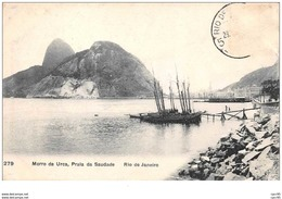 Bresil . N° 47474 . Rio De Janeiro . Morro Da Urca Praia Da Saudade - Rio De Janeiro