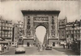 75) PARIS - PORTE SAINT DENIS  - (AUTOMOBILES - DS CITROEN N° 4691 MP 75 + VOITURE N° 4522 CU 780 - 2 SCANS - Arrondissement: 10