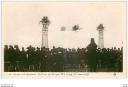 AVIONS.n°28256.LOCOMOTION AERIENNE.PAULHAN SUR OCTAVIE III A JUVISY.1909 - ....-1914: Précurseurs