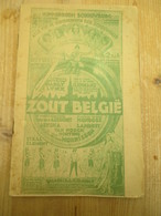 Antwerpen Hippodroom Schouwburg 1930 Miss Belgium Miss Luxembourg Zout Belbie Reclame 20 Blz Brouwerij - Histoire