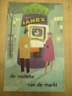 Reclame Televisietoestel Anex 1960 Steenhoudt K Kortrijk Televisie Verkoper 10 Blz - Histoire