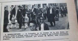 HENIN-LIETARD   Ducasse De La Cité Russe Défilé Fete - France