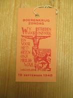 Mechelen Boerenkrijg 1798 1948 - Tickets - Entradas