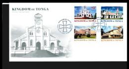 Tonga FDC 2003 Buildings (NB**LAR9-98) - Tonga (1970-...)