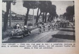 LONGEVILLE   Faubourg De Metz Départ   Du Tour De France Cycliste - France