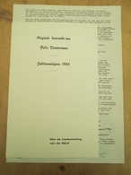 Felix Timmersmans Lier Originele Houtsnede 1986 600 Expl Nr 60 +de Wilde Wingerd 1945 500 Ex Nr 296 - Exlibris