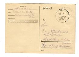 GG Feldpost 1.10.39, Frühe Feldpost FPNr. 01298 Nach Heidelberg - Occupazione 1938 – 45