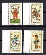 SOMALIA, 2002 - SERIE, SET - CARTE DA GIOCO - PLAYNG CARDS, MNH** - Somalia (1960-...)