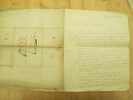 Brief Lettre Gent Dendermonde 1836 Advocaat Blomme - Other