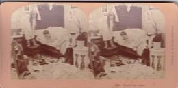 STEREO PHOTO  KILBURN YEAR 1897 / THERE S THE VIXEN - Stereoscopic