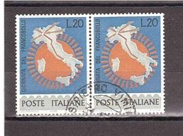 1965 £20 GIORNATA DEL FRANCOBOLLO - Tag Der Briefmarke