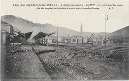 THANN : LA GARE - Thann
