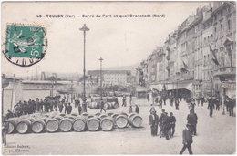 83. TOULON. Carré Du Port Et Quai Cronstadt (Nord). 40 - Toulon