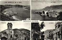 Cpsm Petit Format LERS EL KEBIR  Multivues  RV - Algérie