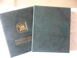 UNO Vereinte Nationen Ringbinder/Kassette Grün Gefährdete Tierarten, Neuwertig - Albums & Binders