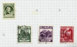 Liechtenstein N°95 à 97 Cote 7 Euros (90 Offert) - Liechtenstein
