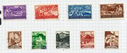 Liechtenstein N°137 à 140 Cote 9 Euros (126, 135 Et 141 à 145 Offerts) - Gebraucht