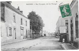 BANNES : RUE PRINCIPALE - Other Municipalities