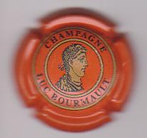 Capsule Champagne BOURMAULT Luc ( 2c ; Orange  Or Et Noir ) {S22-20} - Champagne