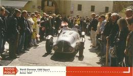 1000 MIGLIA  CARTONCIN  PUBBLICITARIO  NARDI DANESE  1500 SPORT  1947  SUL  RETRO  CLASSIFICHE - Automobilismo - F1