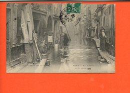 75 PARIS - Rue De Bièvre - Crue De La Seine - 5ème Arr - Arrondissement: 05