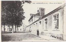 AUBIGNE : PLACE DE LA MAIRIE - Other Municipalities