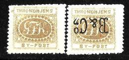 532-  NORWAY - NORGE - TRONDHJEM BYPOST - 1880  - FORGERIES, FALSES, FALSCHEN, FAKES, FALSOS - Non Classés