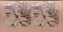 STEREO PHOTO  KILBURN  YEAR 1897 / OUR CHRISTMAS FEAST - Stereoscopic