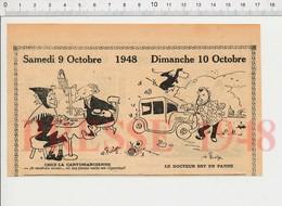 Humour Cartomancienne Cartes Hibou Owl Stéthoscope Voiture Médecin Escargot Optique Opticien Appareil Vue Hippisme198/48 - Vieux Papiers