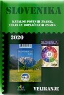 SLOVENIA 2020,,SLOVENIA STAMP CATALOGUE,SLOVENIKA - Briefmarkenkataloge