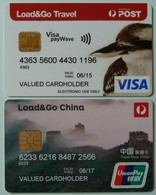 Australia - Payment Cards - VISA - Union Pay - Load & Go China & Travel - Mint - Cartes De Crédit (expiration Min. 10 Ans)